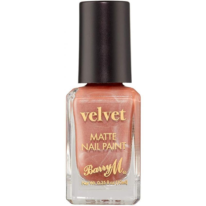 Barry M. Velvet Matte Nail Paint Plush Blush