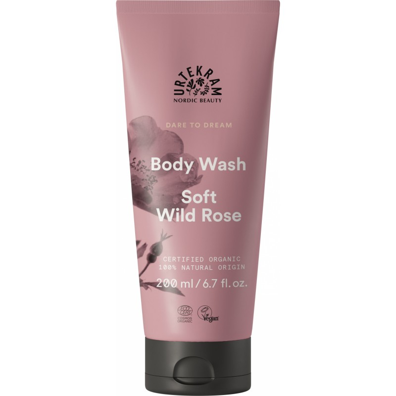 Urtekram Dare To Dream Body Wash Soft Wild Rose