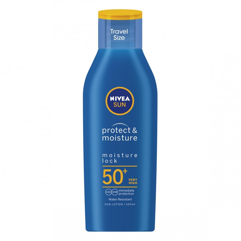 Nivea Sun Protect & Moisture Travel Size SPF50+