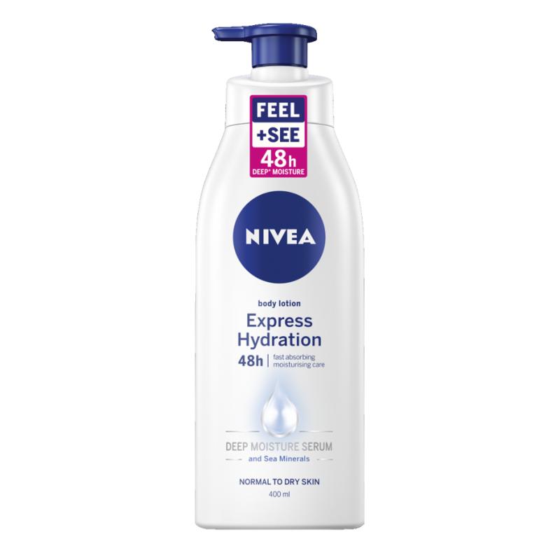 Nivea Body Lotion Express Hydration Pump