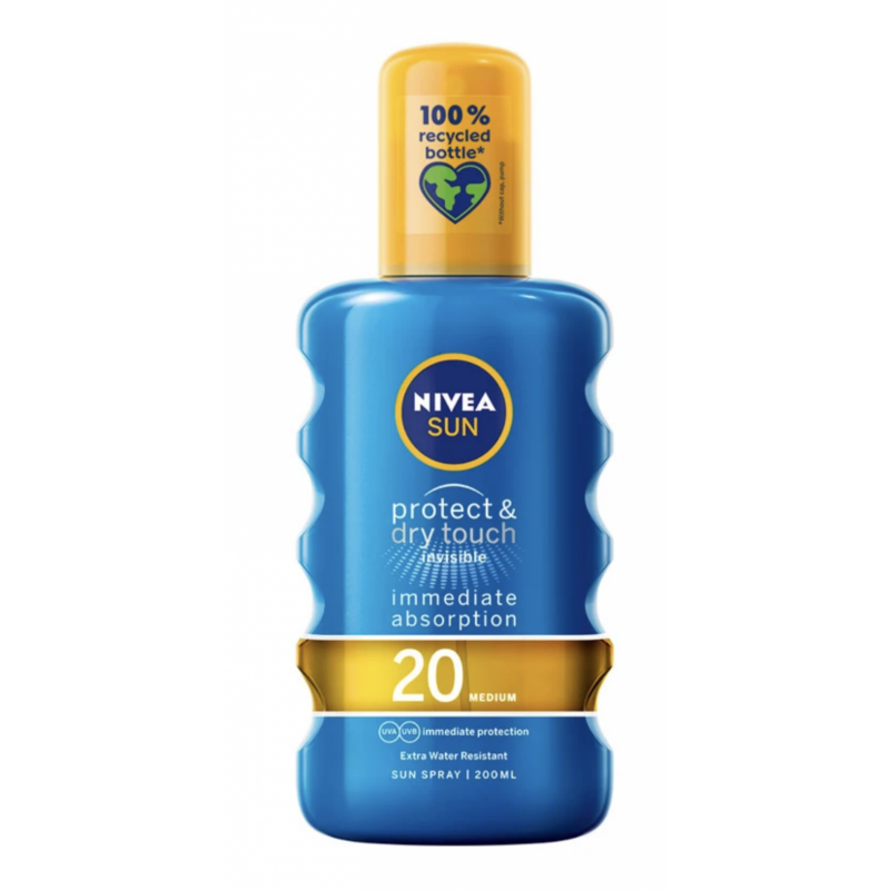 Nivea Sun Protect & Dry Touch Sun Spray SPF20