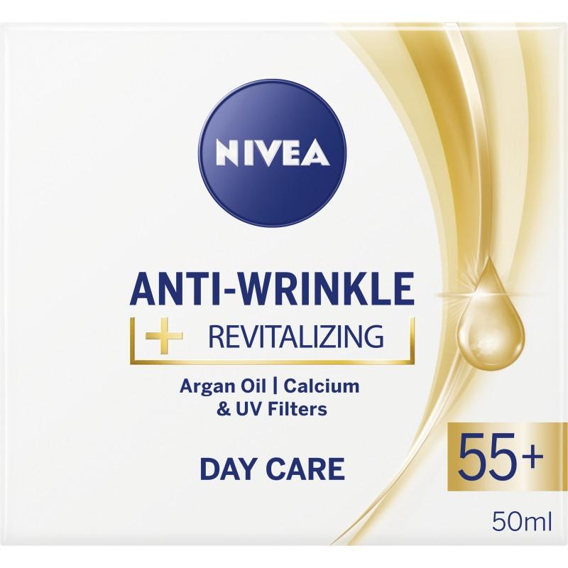 Nivea Anti Wrinkle Revitalizing Day Care 55+