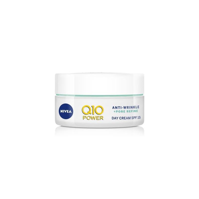 Nivea Q10 Power Anti-Wrinkle Pore Refiner Day Cream