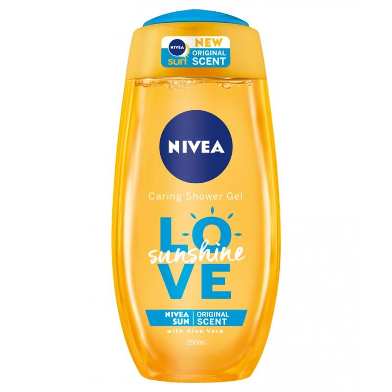 Nivea Caring Shower Gel Love Sunshine