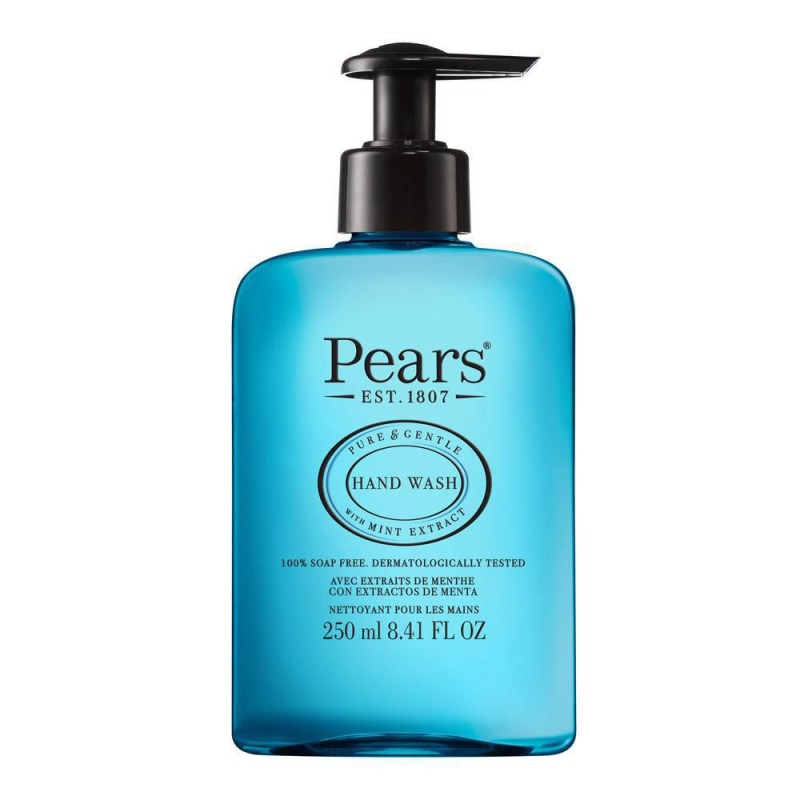 Pears Mint Extract Blue Hand Wash