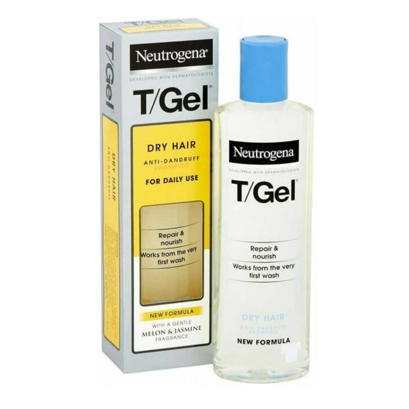 Neutrogena T Gel Anti Dandruff Shampoo Dry Hair