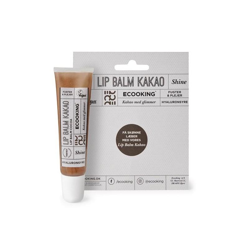Ecooking Lip Balm Cocoa With Glitter