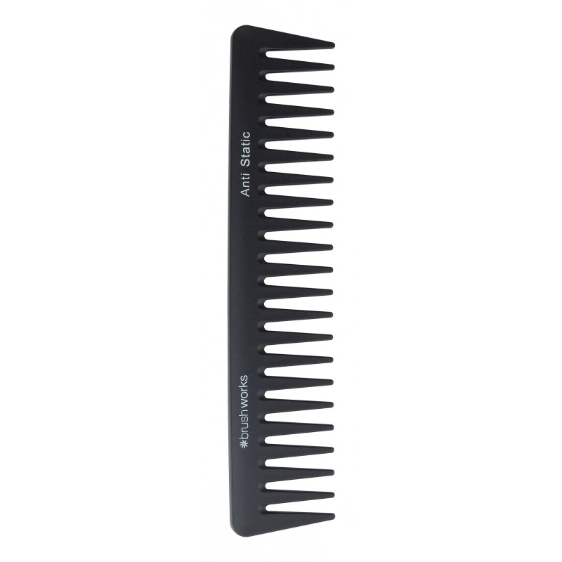 Brush Works Anti-Static Wide Tooth Comb