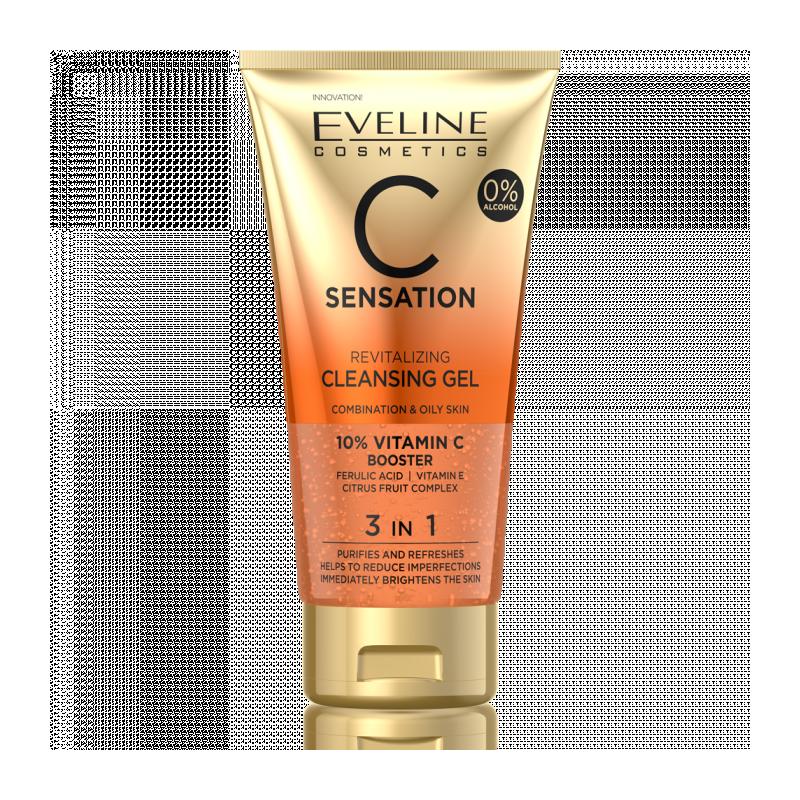 Eveline C Sensation Cleansing Face Wash Gel
