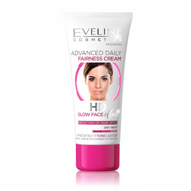 Eveline Advanced Daily Fairness Cream HD Glow Face Effect