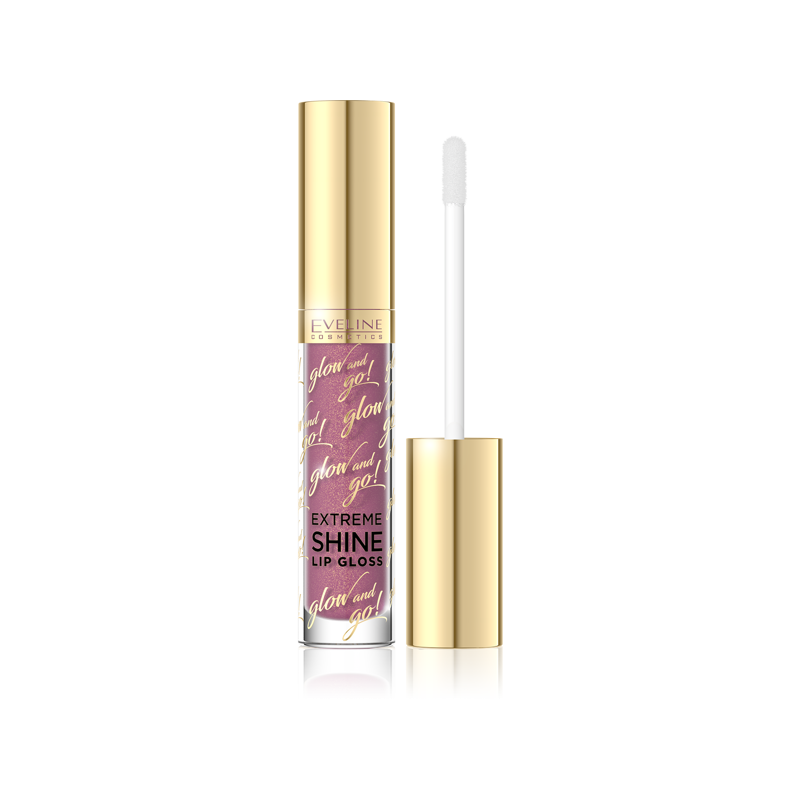 Eveline Glow And Go! Extreme Shine Lip Gloss 02 Candy Pink