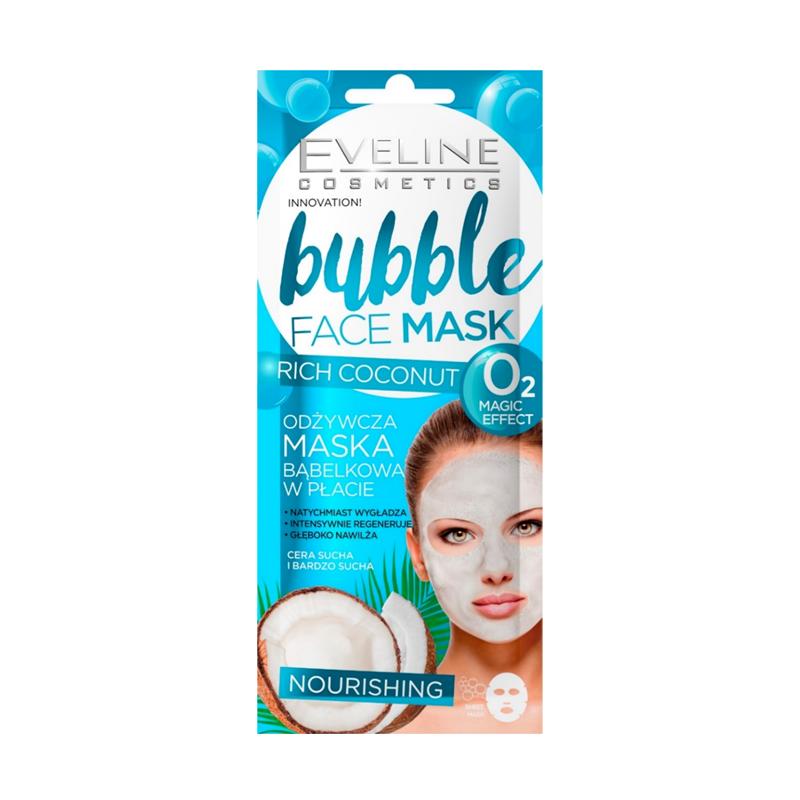 Eveline Bubble Face Mask Nourishing Coconut
