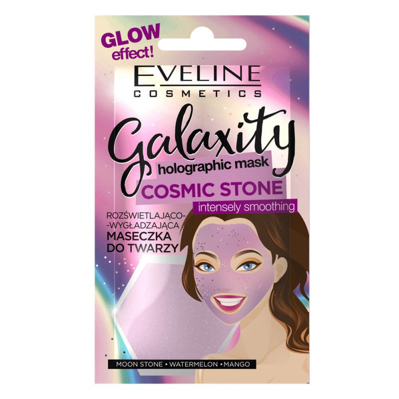 Eveline Galaxity Holographic Face Mask Intensely Smoothing