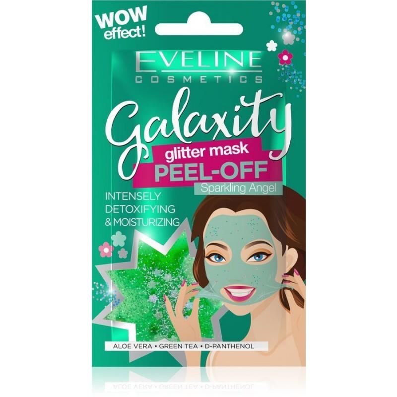 Eveline Galaxity Glitter Peel-Off Mask Detoxifying & Moisturizing
