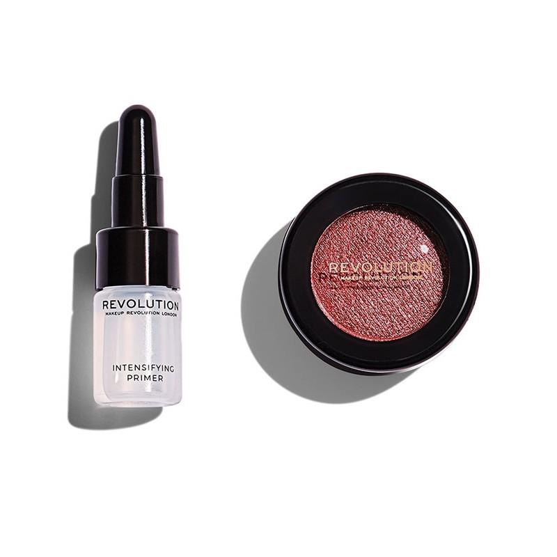 Revolution Makeup Flawless Foils Rose Gold Primer & Eyeshadow Set