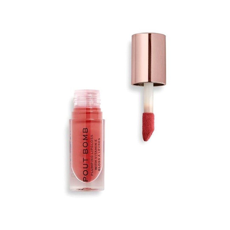 Revolution Makeup Pout Bomb Plumping Gloss Peachy