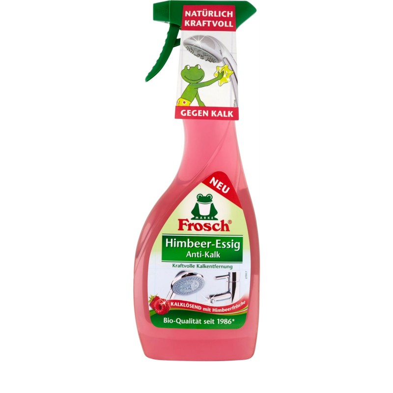 Froggy Hindbær-Eddike Kalkfjerner