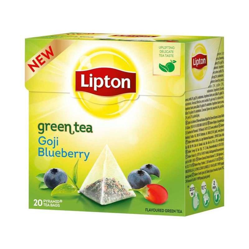 Lipton Green Tea Goji & Blueberry