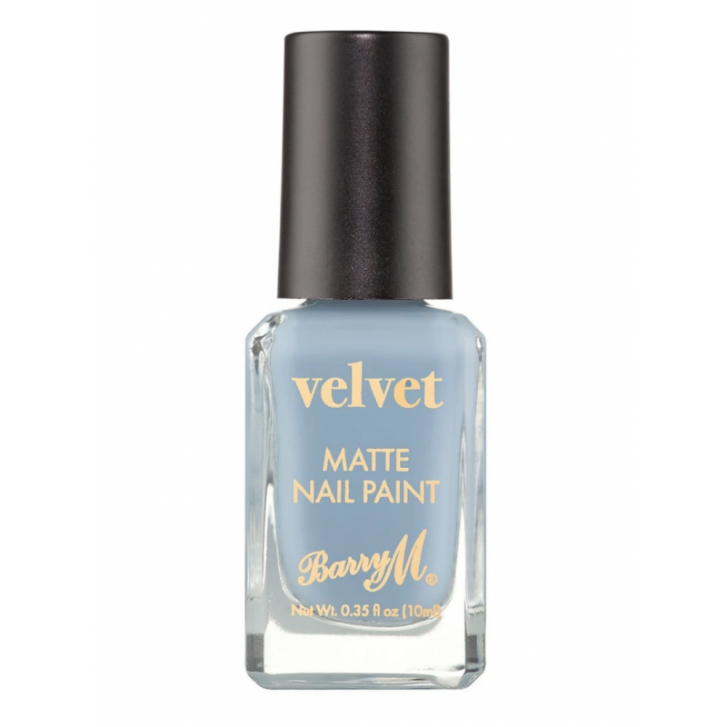 Barry M. Velvet Matte Nail Paint Lake House