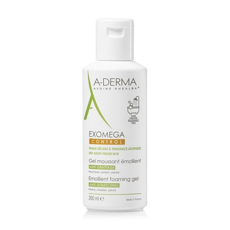 A-Derma Exomega Control Foaming Gel