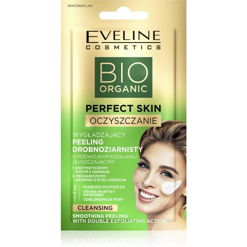Eveline Perfect Skin Cleansing Smoothing Peeling Double Exfoliating Action