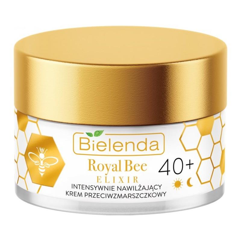 Bielenda Royal Bee Elixir Intensively Moisturizing Anti-Wrinkle Cream 40+
