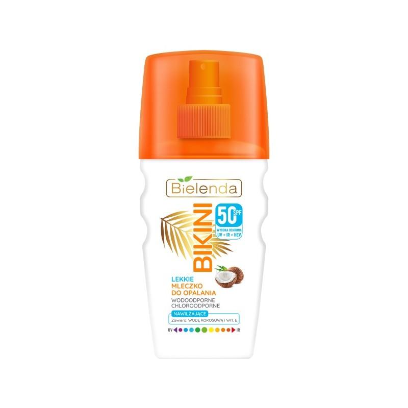 Bielenda Bikini Light Coconut Suntan Milk Spray SPF50