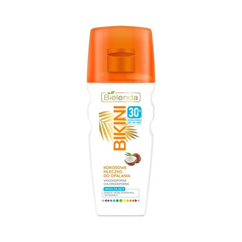 Bielenda Bikini Coconut Suntan Milk SPF30