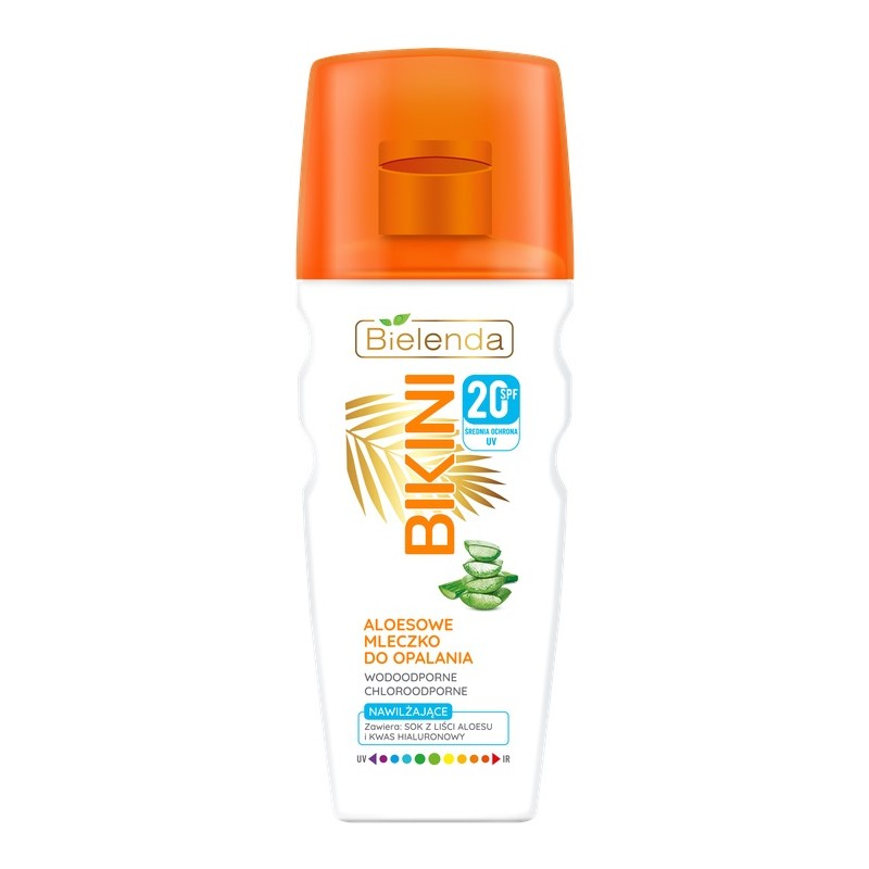 Bielenda Bikini Aloe Suntan Milk SPF20