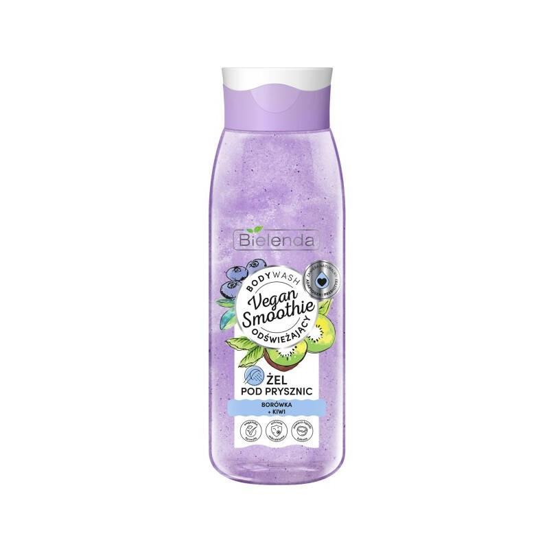 Bielenda Vegan Smoothie Shower Gel Blueberry & Kiwi