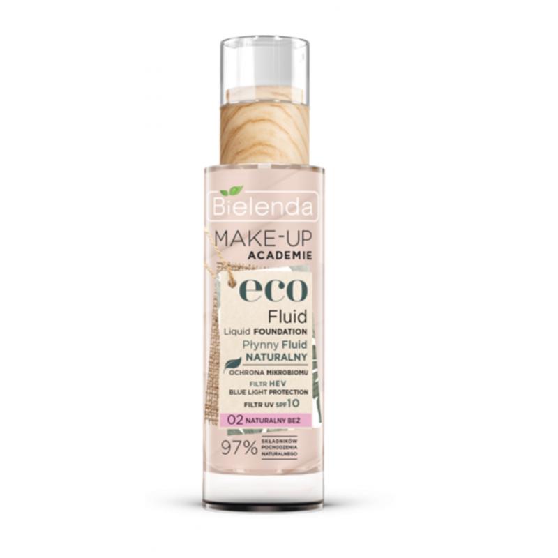 Bielenda Make-up Academie Eco Fluid Liquid Foundation 02 Natural Beige