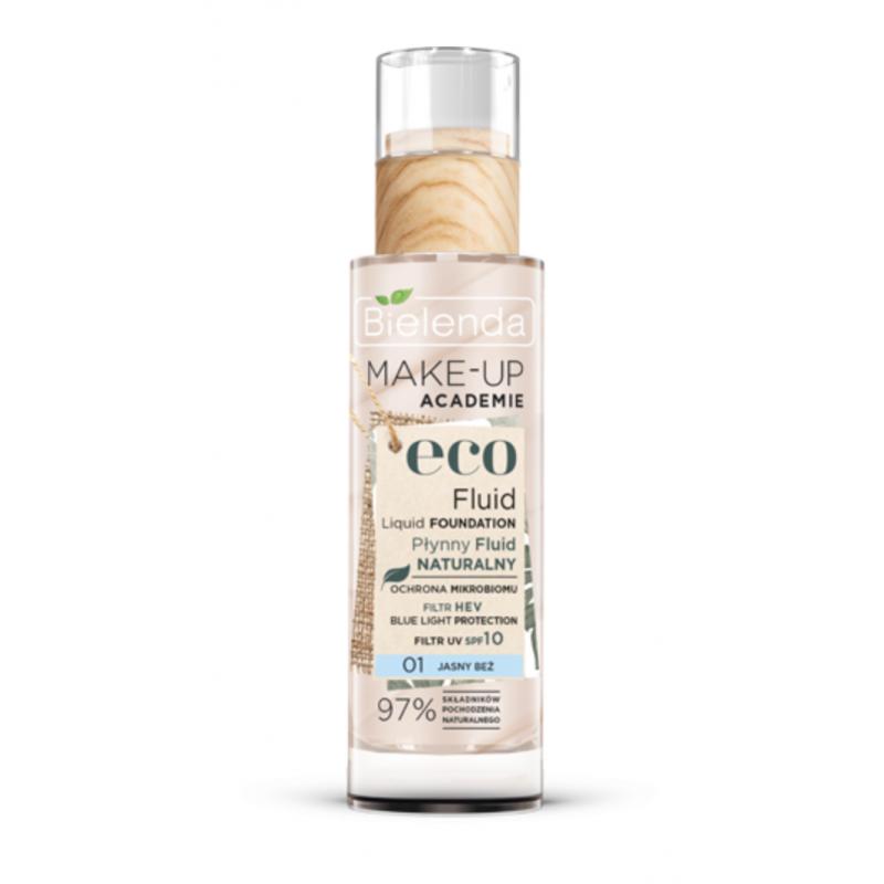 Bielenda Make-up Academie Eco Fluid Liquid Foundation 01 Light Beige