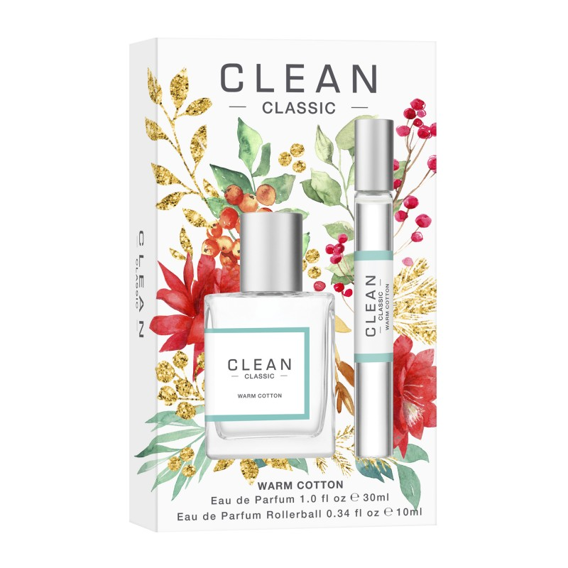 Clean Warm Cotton Duo EDP Holiday Set -lahjapakkaus