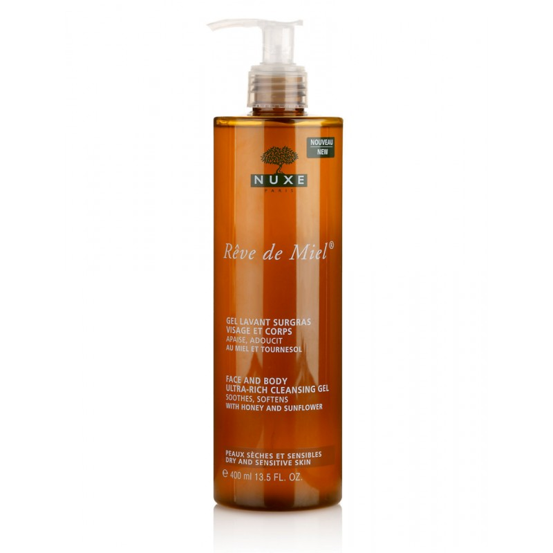 Nuxe Reve de Miel Face & Body Cleansing Gel