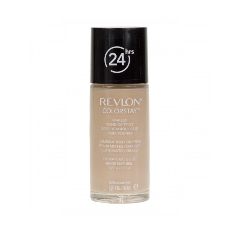 Revlon ColorStay Combination & Oily Skin 220 Natural Beige