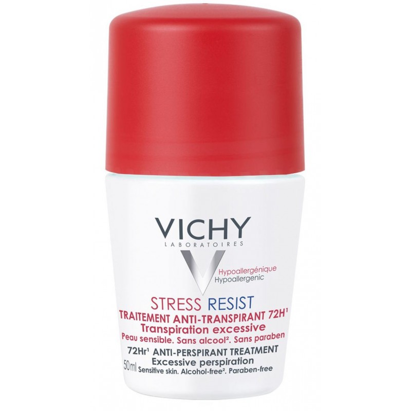Vichy Deodorant Roll-On Stress Resist 72h