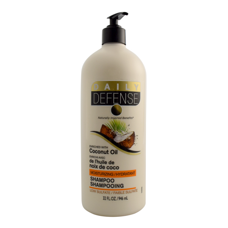 Daily Defense Coconut Oil Shampoo