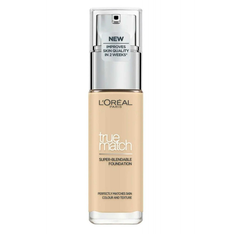 L'Oreal True Match Foundation W1 Golden Ivory