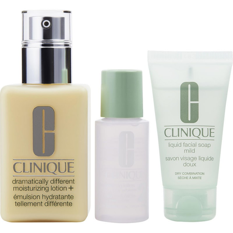 Clinique 3-Step Skin Care System 2 Dry Combination Skin Big Size