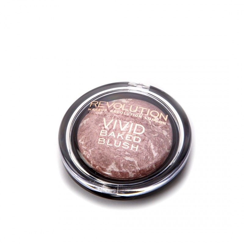 Revolution Makeup Baked Blusher Hard Day