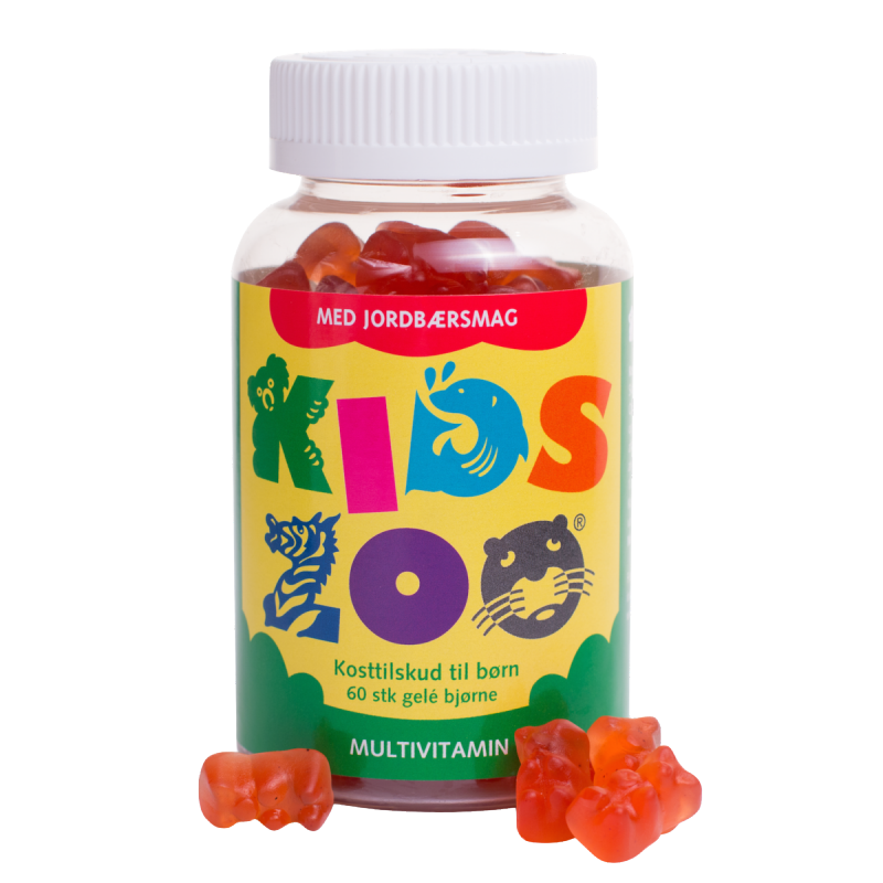 Kids Zoo Multivitamin Strawberry