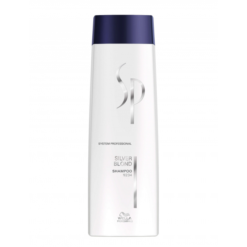 Wella SP Color Save Silver Blond Shampoo
