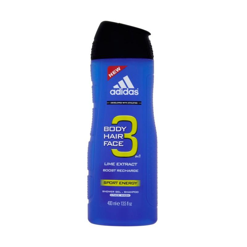 Adidas 3 in 1 Sport Energy Showergel