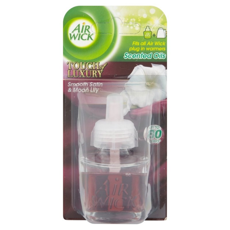 Air Wick Satin & Moon Lily Plug In Refill