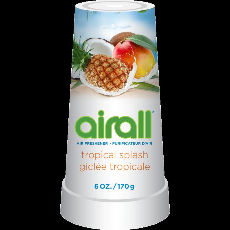 Airall Air Freshener Solid Tropical Splash