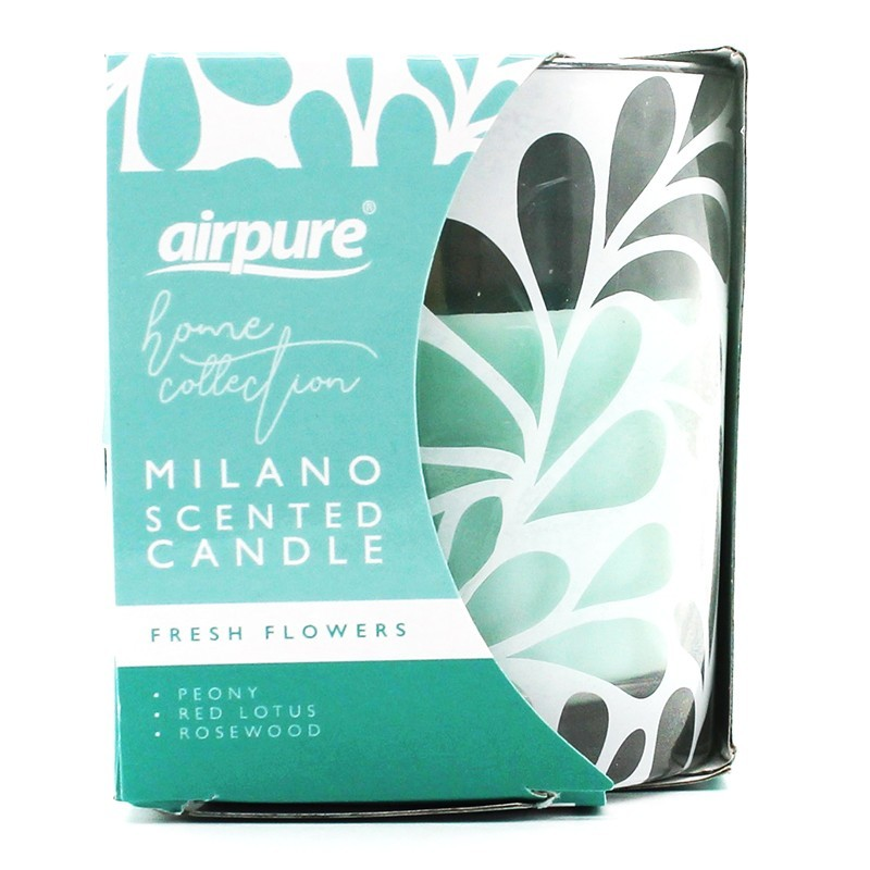 Airpure Milano Scented Candle Fresh Flowers