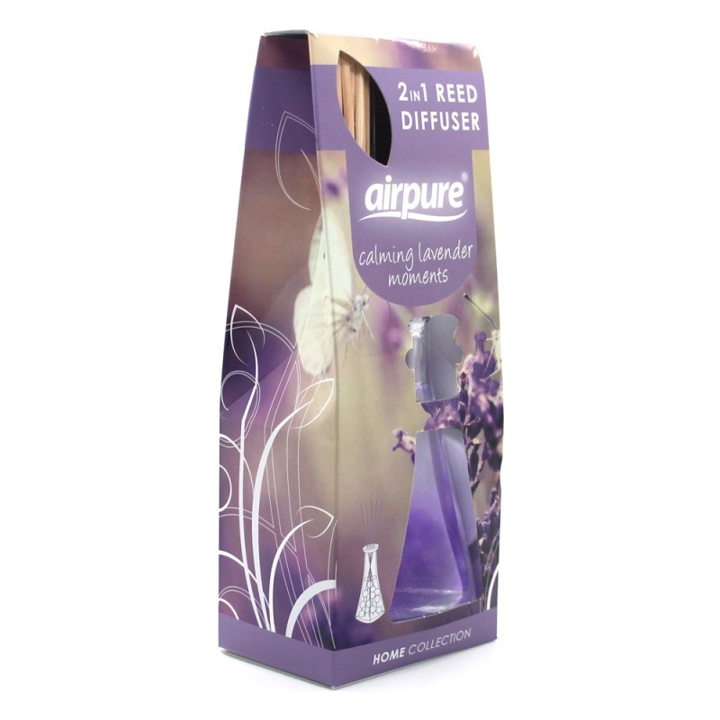 Airpure Reed Diffuser Home Collection Calming Lavender Moments