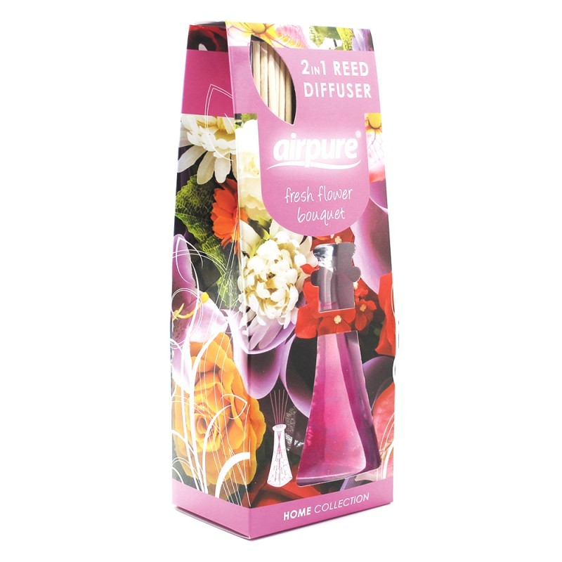 Airpure Reed Diffuser Home Collection Fresh Flower Bouquet