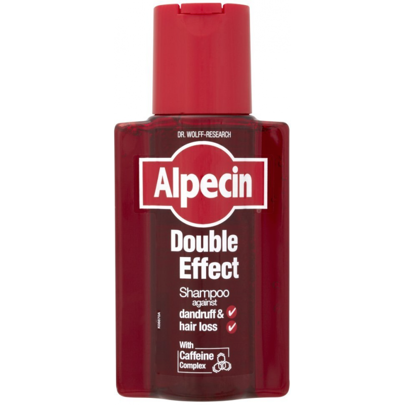Alpecin Double Effect Caffeine Shampoo Against Dandruff & Hair Loss