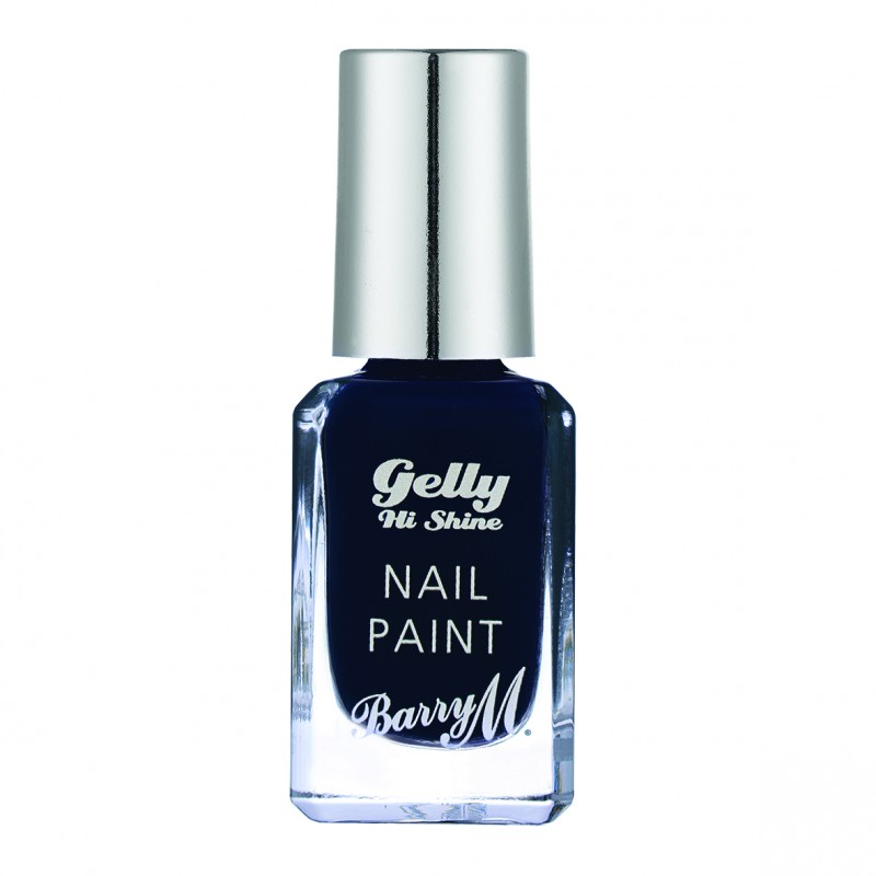 Barry M. Gelly Nail Paint 41 Black Grape